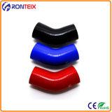 180 gradi tubo flessibile del silicone del gomito delle 4 pieghe