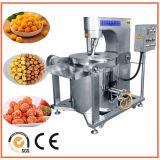 Machine à popcorn à gaz haute qualité chauffée au gaz avec mélangeur