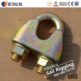 Galvanizado Rigigng Fundición maleable abrazadera para cable metálico