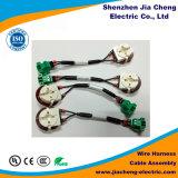 El conector Molex mazo de cables de larga vida útil del conjunto de cables
