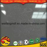 Hoge Gloosy /Mat/Mirror 12mm/15mm/17mm/18mm E0/E1/E2 MDF van de Melamine MDF/Laminated