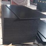 Bois phénolique Shuttering de peuplier de colle fait face par film noir (12X1250X2500mm)