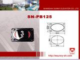 Druckknopf mit Passagier-Höhenruder (SN-PB125) anheben