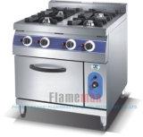Intervallo di cottura di gas del bruciatore dell'annuncio pubblicitario 4 con il forno di gas