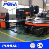 Precio de la punzonadora del CNC del metal de hoja del Ce