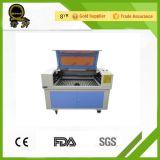 Máquina do gravador do laser da tecnologia Ql-6090 da estaca do laser de dióxido de carbono