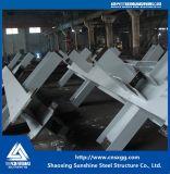 Centrale elettrica a carbone della struttura d'acciaio con il materiale da costruzione di Desulfurized