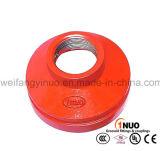 Norme de FM/UL/Ce réducteur Grooved de 300 livres par pouce carré pour des systèmes de lutte contre l'incendie
