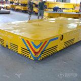 Reboque Trackless motorizado elétrico de venda quente do transporte no assoalho do cimento
