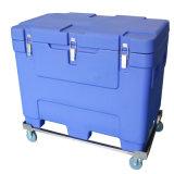 Riemenscheiben-Walzen-Kühlvorrichtung-Kasten beweglicher Nahrungsmittelkühlvorrichtung-Isolierkasten