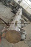 Передача силы Monopole Поляк гальванизирования горячего DIP сплющенная сталью
