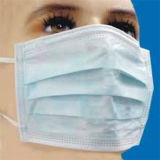 3 Folhas descartáveis máscara facial com Earloop Médica, vestuário de segurança