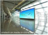 Аэропорта для использования внутри помещений на стену рекламных баннеров светодиодов печать блок освещения