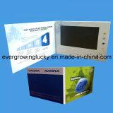 7inch LCDのビデオグリーティングの郵便はがき