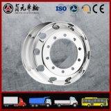 Bordas de alumínio forjadas da roda do caminhão da liga do magnésio para o barramento (17.5X6.75)