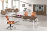 2017 de gran tamaño de aluminio piernas cálido superior blanco mesa de conferencia (HY-H02)