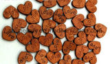 Botões / ícones de madeira da natureza para Scrapbooking & DIY Crafts