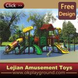 CE magnifique terrain de jeux d'amusement des enfants de l'École d'équipement (12012A)