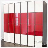 Lacobel de vidro envernizado vidro pintado vermelho de vidro com Ral 3020