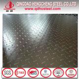 Placa Checkered de aço do rolo quente com teste padrão da gota do rasgo