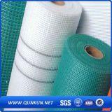 Malha de arame de fibra de vidro revestida com alcalino e resistente com preço de fábrica