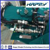 "Boyau hydraulique de fil lourd de Quatre-Spirale de DN 3/16 """