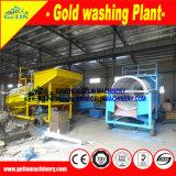 Attrezzatura mineraria per un lavoro minerario della piccola scala, macchina d'estrazione di gravità alluvionale dell'oro di ripristino alluvionale mobile dell'oro