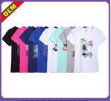 Women (W319)를 위한 형식 Sexy Cotton Printed T-Shirt