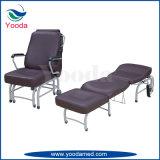 Silla de acompañamiento lujosa de los muebles del hospital