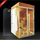 Neue Auslegung-im Freiensauna-Dampf-Raum, Sauna-Dusche-Kombination (SR1K003)