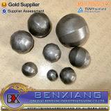 Las bolas de hueco de acero hierro forjado.