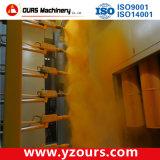 Linha de revestimento de pó automática para produtos metálicos de cor rápida