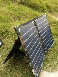 Le chargeur mobile solaire de téléphone de côté de pouvoir avec du ce a reconnu