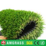 Tappeto erboso artificiale cinese di vendita poco costosa e calda per il giardino