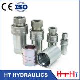Couplage rapide hydraulique hydraulique de Pheumatic d'embout de durites d'acier inoxydable avec le type proche
