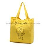 安いブランクカラー綿の戦闘状況表示板のショッピング・バッグ