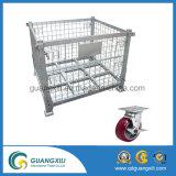 Tipo de suspensão galvanizado recipiente do engranzamento de fio