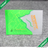 Etiqueta de cuidado de lavagem TPU Transparente de duas cores personalizada