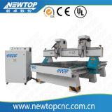 Máquina de gravura de madeira do router 1325-3h do CNC