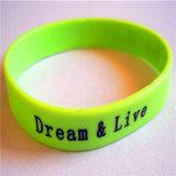 Intagliare la vendita calda del silicone del Wristband da 1 pollice