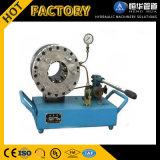 Tipo portatile macchina di piegatura del fornitore ad alta pressione dell'oro del tubo flessibile idraulico manuale