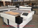 Цифровой обработкой картонная коробка морщин и режущие машины