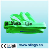 Sln Synthectic Fiber Lifting Round Sling avec des yeux