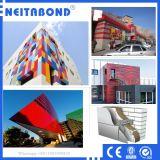 Neitabond Gebäude-Fassade-zusammengesetztes Aluminiumblatt für Wand-Umhüllung