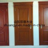Schlafzimmer-Eingangs-Hauptteakholz-hölzerner Tür-Entwurf