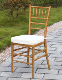 Weddingのための金Resin Chiavari Chair