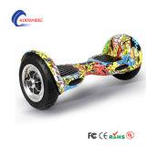 2 바퀴 전기 스쿠터 10 인치 지능적인 균형 스쿠터 Hoverboard