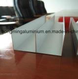 양극 처리되는 부엌 찬장 찬장을%s 알루미늄 단면도