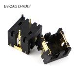 Batteriehalterung für AG13 (BS-2AG13-9DIP)