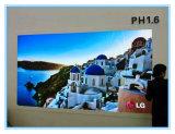 Kleine Abstand HD des Pixel-P1.6 LED-Innenbildschirmanzeige